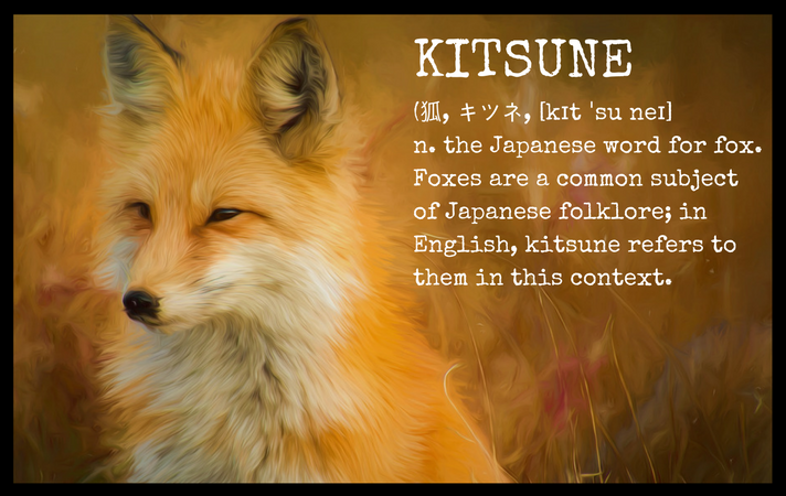 Fox Kitsune Definition