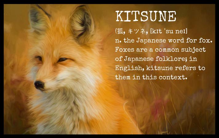 Fox Kitsune Definition